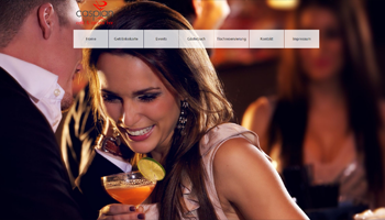 Cocktailbar in Bonn CASPIAN - Webdesign